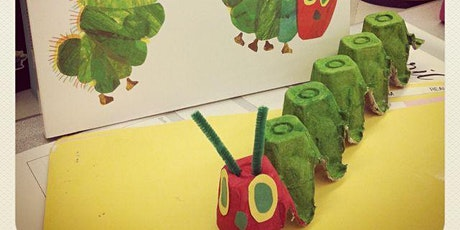 THE VERY HUNGRY CATERPILLAR (5 yrs+) STORY & CRAFT - with Eloisa tickets