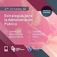 4tas Jornadas de Estrategia para la Administración Pública bilhetes