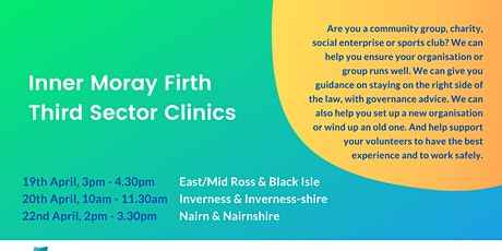 Inner Moray Firth Third Sector Clinics: Inverness & Inverness-shire tickets