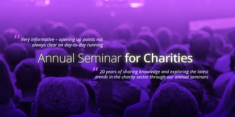 Morris Crocker Annual Seminar for Charities tickets