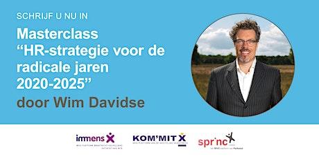 Masterclass Wim Davidse - Dinsdag 25 mei billets