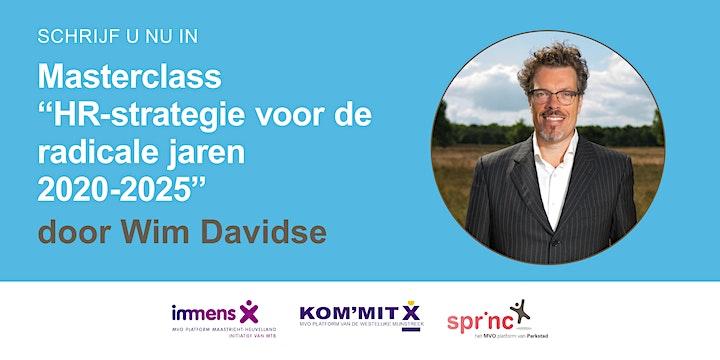 Afbeelding van Masterclass Wim Davidse - Dinsdag 25 mei