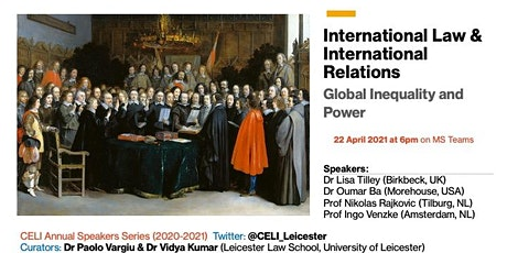 International Law & International Relations: Power and Global Inequality tickets