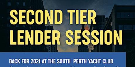 Second Tier  Lender Session - morning tickets