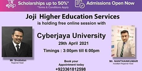 Copy of Virtual Fair with University of Cyberjaaya, Malaysia tickets