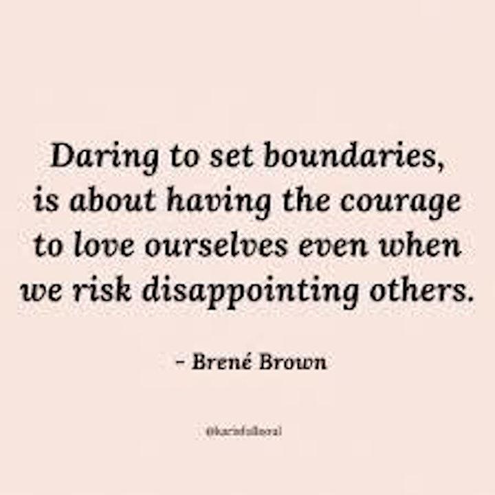 How to create healthy boundaries image