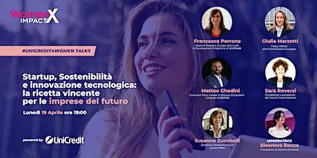 UniCredit4Women| Mondo Startup & Sostenibilità: a che punto siamo? biglietti