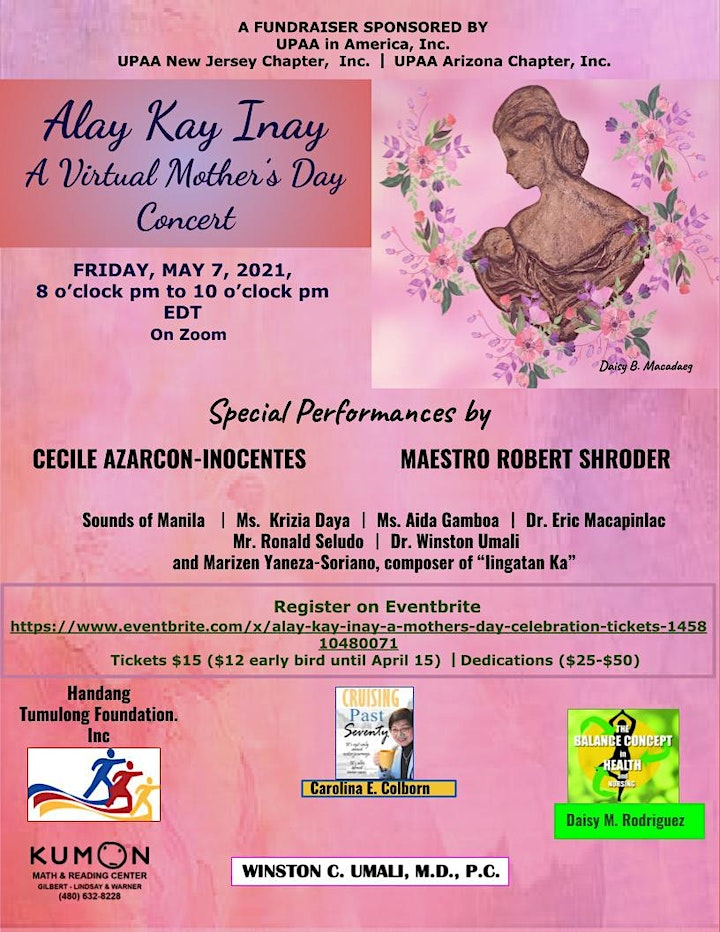 Alay Kay Inay: A Virtual Mother's Day Concert image