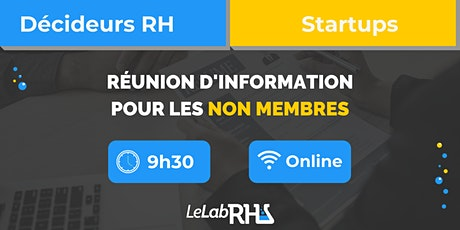 Réunion d'information - Non membres billets
