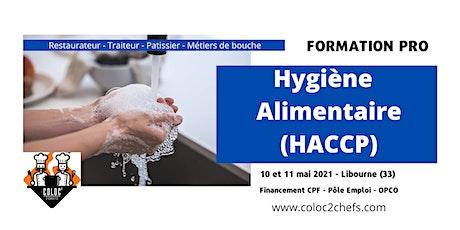 Formation HACCP -  hygiène et sécurité alimentaire tickets