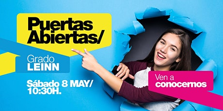 LEINN/ PUERTAS ABIERTAS MADRID [08 MAY | 10H30] entradas