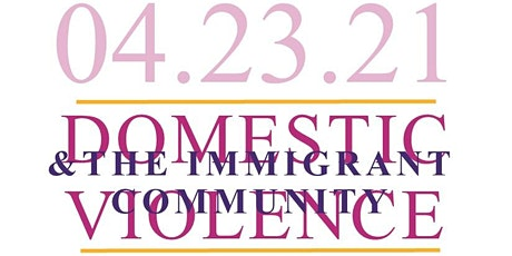 Domestic Violence & the Immigrant Community Training tickets