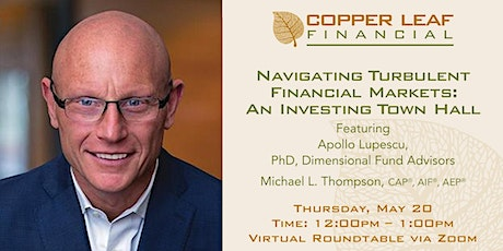 Navigating Turbulent Financial Markets: An Investing Town Hall tickets