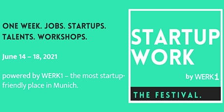 Startup WORK 2021 - The Festival tickets