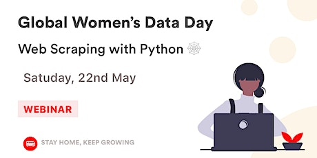 Join our Global Women's Data Day: Web Scraping with Python tickets