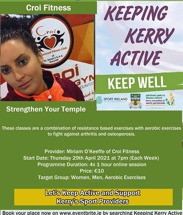 Keeping Kerry Active -  Strengthen Your Temple image