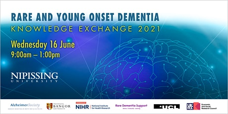 Rare and Young Onset Dementia: Knowledge Exchange 2021 tickets