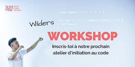 Atelier d'initiation au code tickets