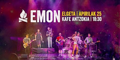 EMON - Elgetako Kafe Antzokia | 2021/04/25 entradas