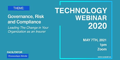 Governance, Risk and Compliance: Leading The Change in Your Organization tickets