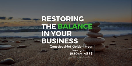 ConsciousNet: Restoring the Balance into your business tickets
