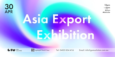 Asia Export Exhibition tickets