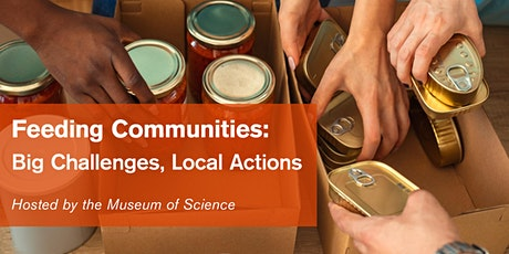 Feeding Communities: Big Challenges, Local Actions tickets