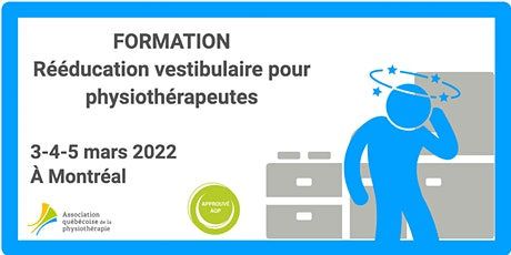 Rééducation vestibulaire pour physiothérapeutes (Montréal) billets