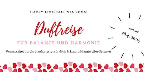 DUFTREISE für Balance und Harmonie tickets