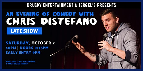 Chris Distefano (Late Show) tickets