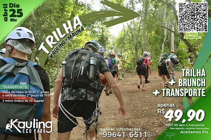 Trilha Kauling Mauna. 1º Grupo image