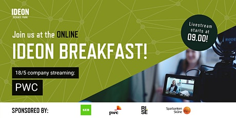 Ideon Breakfast Online with PWC tickets