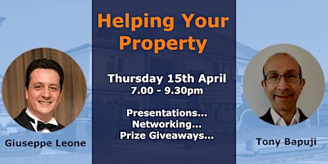 April Property Get-together, Thursday April 15th tickets