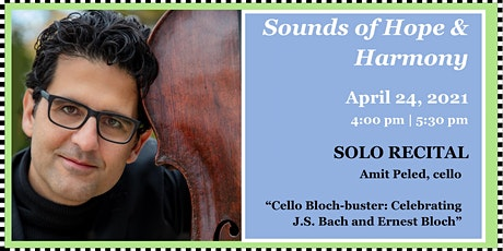 """Sounds of Hope & Harmony: Solo Recital - """"When Bach Met Bloch"""" tickets"""