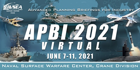2021 NSWC Crane Advanced Planning Briefings for Industry (APBI) tickets