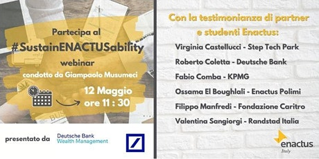 #SustainENACTUSability Webinar biglietti