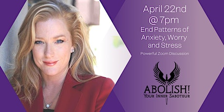 End Patterns of Anxiety, Worry and Stress tickets