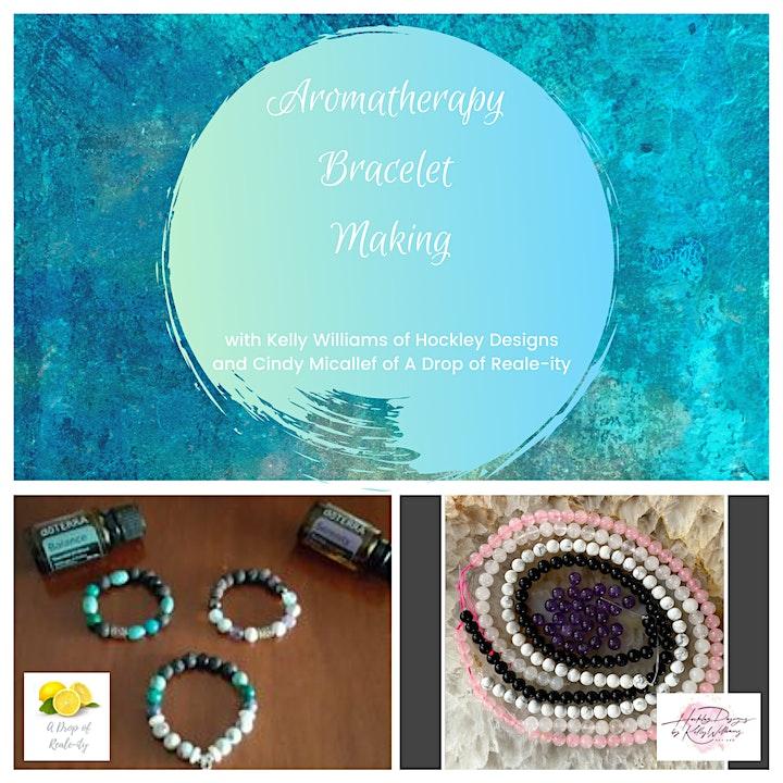 Mother's Day Aromatherapy Bracelet Making image
