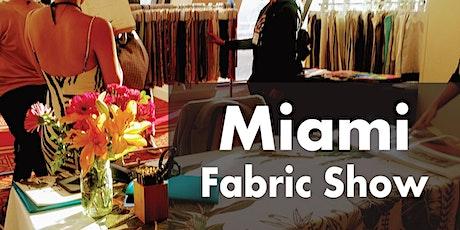 Miami Fabric Show 2021 tickets