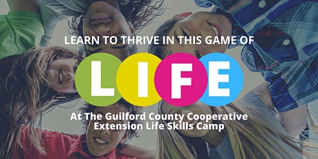 Life Skills Camp - Middle School tickets