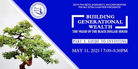 Building Generational Wealth: The Value of the Black Dollar Series tickets