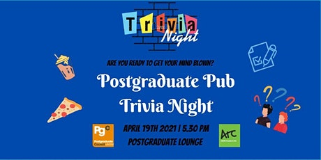 Postgraduate Pub - Trivia Night tickets
