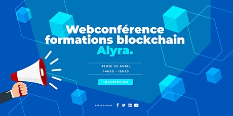 Copie de Webconférence - Découvrir les formations blockchain avec Alyra billets
