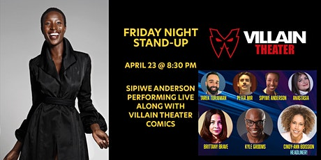 Stand-Up Comedy Show at Villain Theater benefiting North Beach Elementary tickets