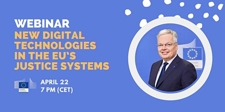 New Digital Technologies in the EU's Justice Systems tickets