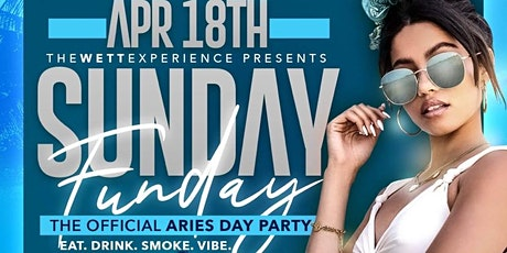 Sunday Funday: The Official Aries Day Party tickets
