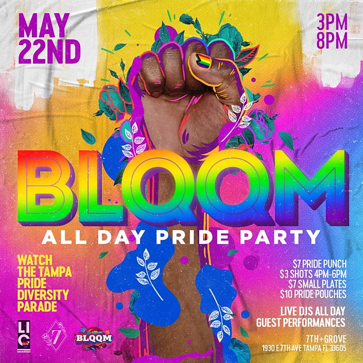 BLQQM All Day Pride Party image