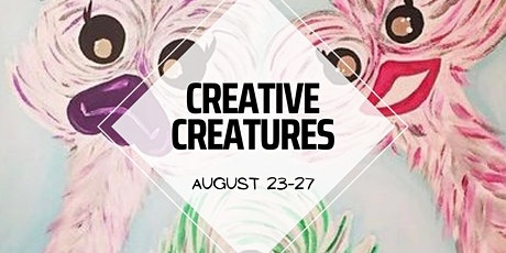 Creative Creatures Virtual camp tickets