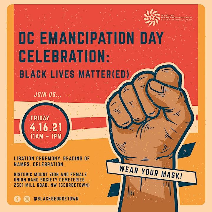 DC Emancipation Day Celebration! image