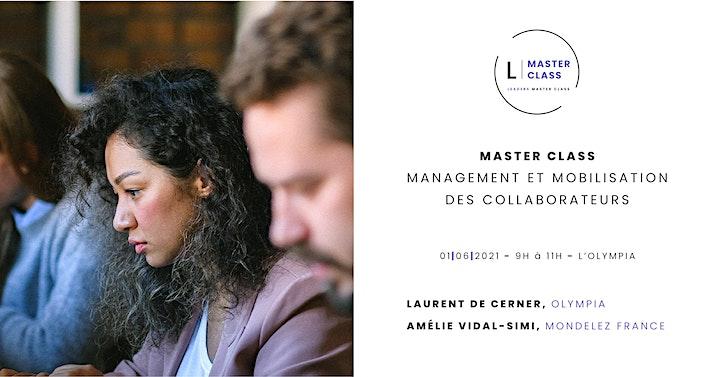 """Image pour Master Class -  """" Management et mobilisation des collaborateurs """""""